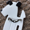Terrier Dog Brooch ( SOLD)    White and Black by Lea Stein Paris